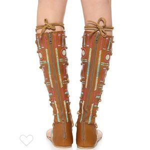 Only Today! Free People gladiator sandals size 36
